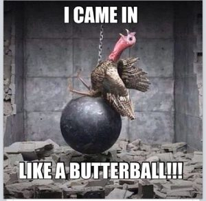 thanksgiving butterball turkey chain ball tbb