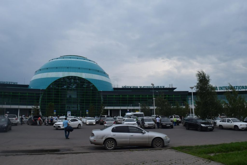 Local taxis at Astana airport
