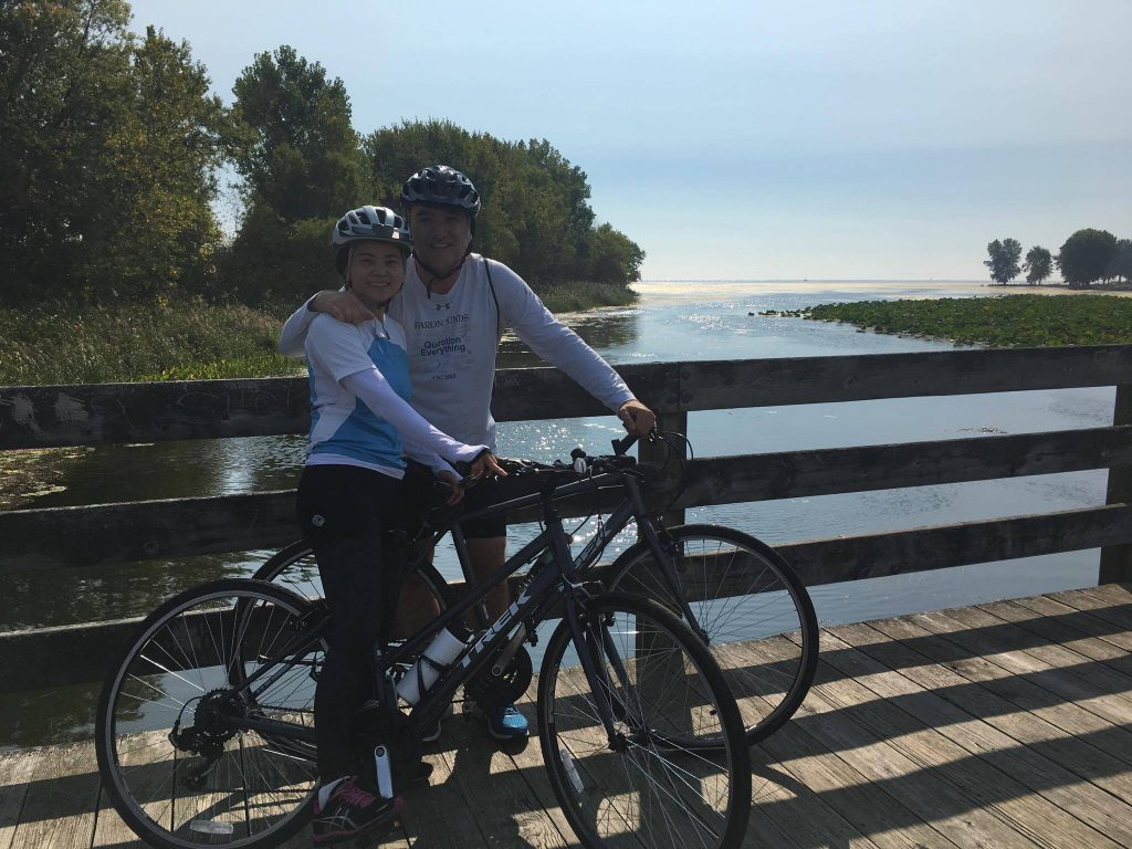 lake erie biking trail