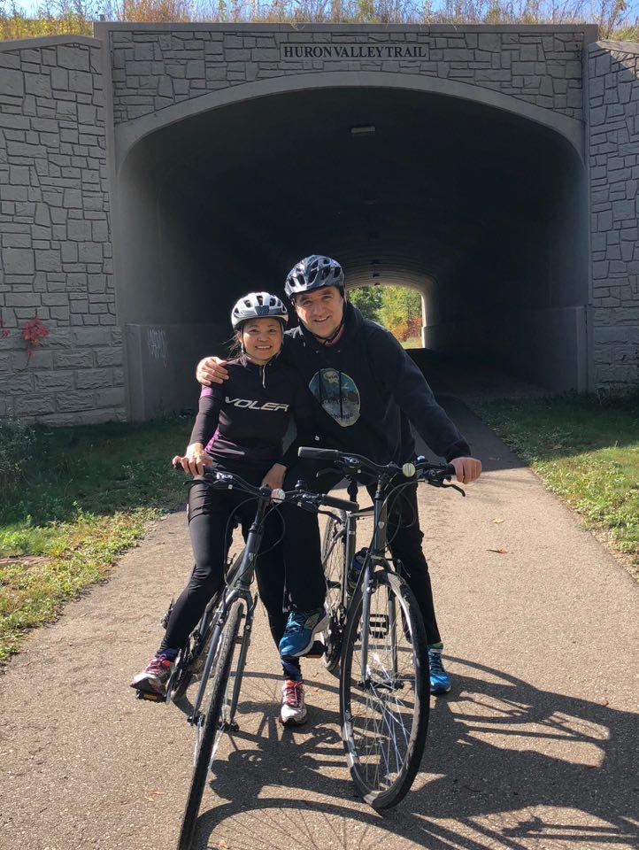 biking huron river trail