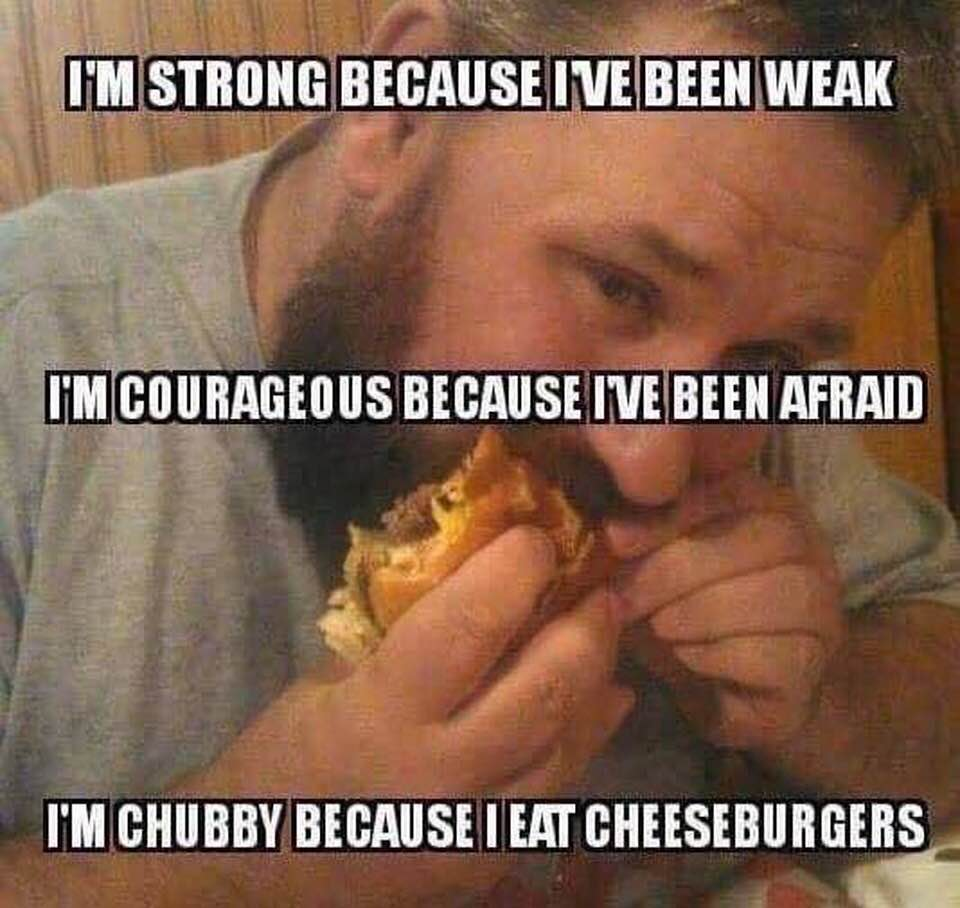 fat cheeseburgers meme